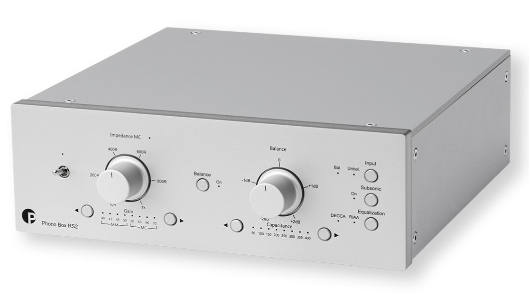 Phono box RS2, preamp di Project