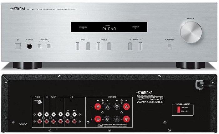 Amplificatore integrato Yamaha A-s201: recensione