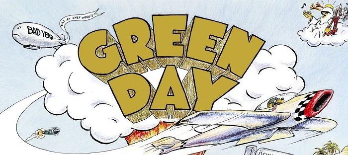 I dischi in vinile dei green Day